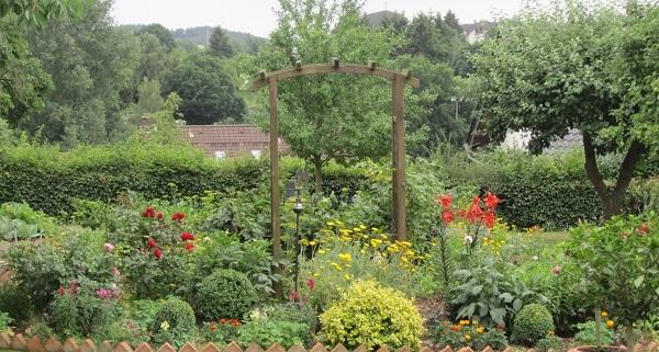 Garten in Mengeringhausen